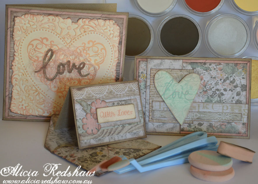 PanPastel Cardmaking Class with Alicia Redshaw