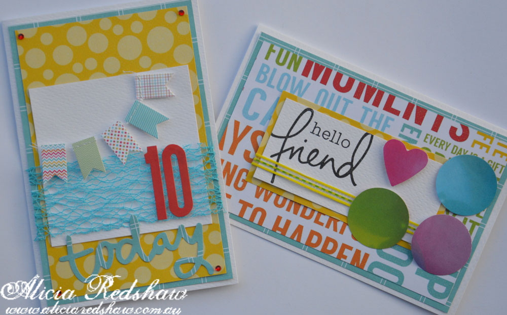 Kids Cardmaking with Alicia Redshaw
