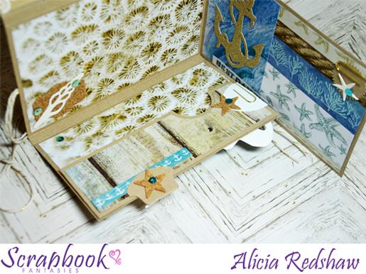 Snail Mail Folio (Beach) Class with Alicia Redshaw