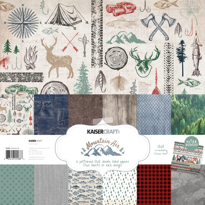 New Pre Orders Online Mountain Air Sparkle Scrapbook Fantasies