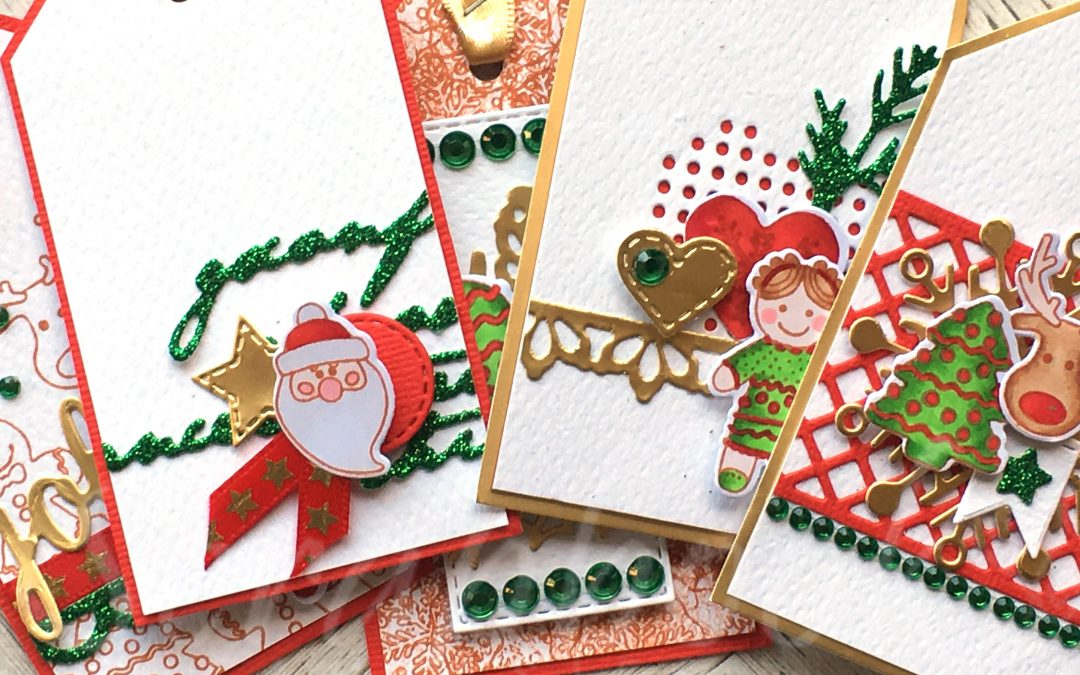 Christmas Gift Tag (Cardmaking) Class with Alicia Redshaw