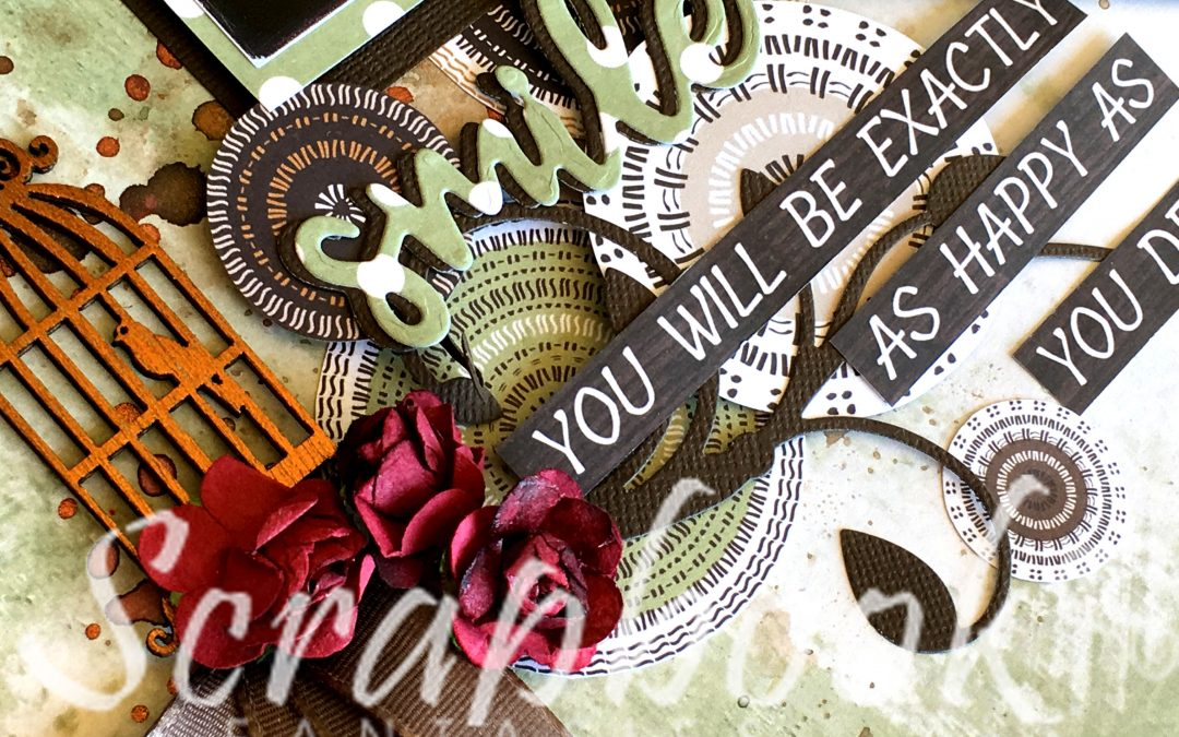 Gypsy Rose Scrapbooking Class with Joanna Ford