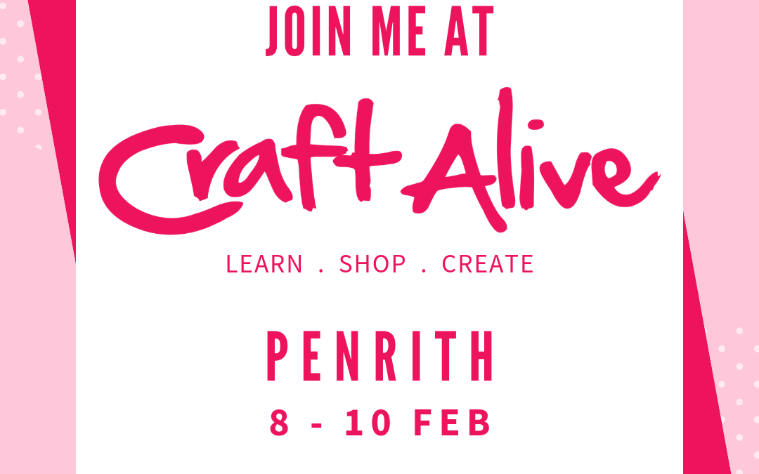 Craft Alive Penrith – 8 to 10 February 2019