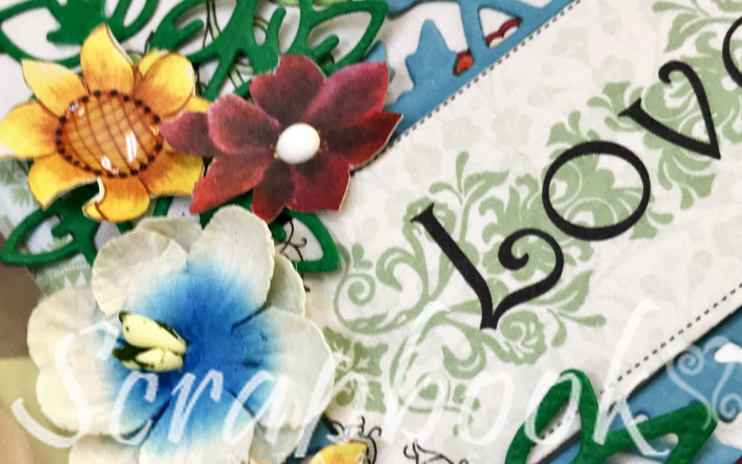 Bohemian Bouquet Scrapbooking Class with Joanna Ford