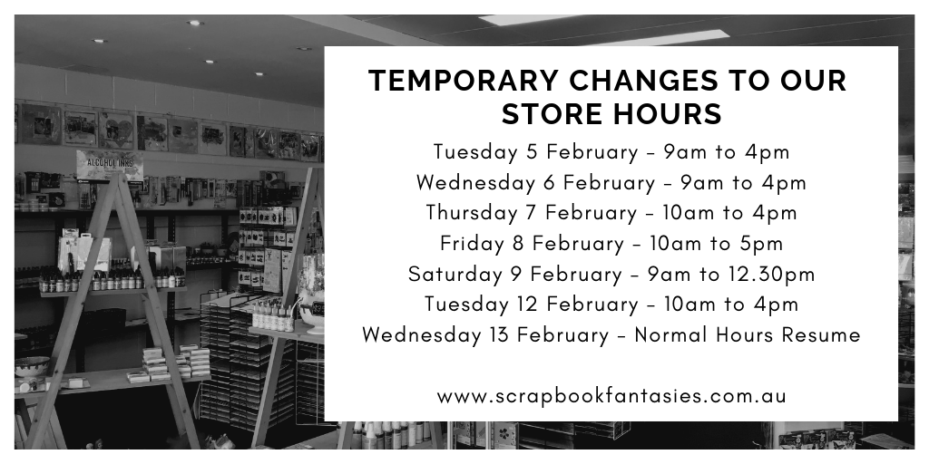 Changed Trading Hours