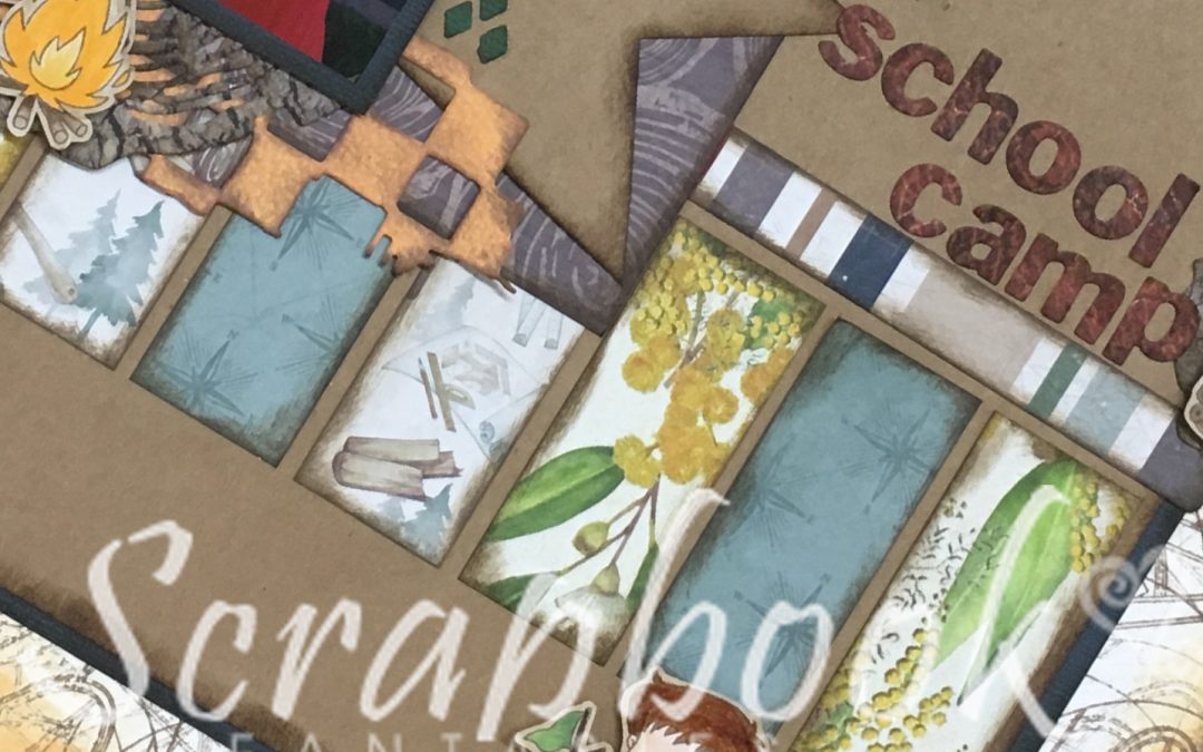 Camping Scrapbooking Class with Alicia Redshaw