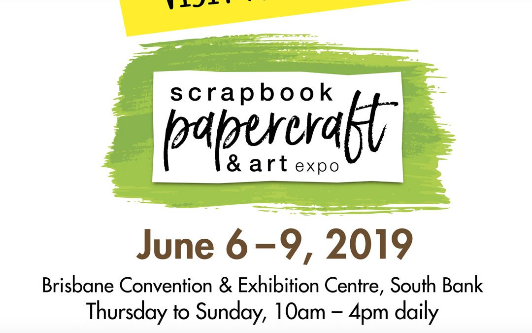 Scrapbook, Papercraft & Art Expo 2019