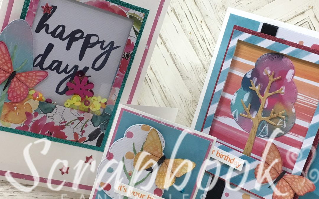 Cocoa Vanilla Studio Happiness Cardmaking Class with Alicia Redshaw