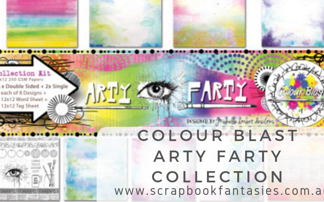 NEW Colour Blast Arty Farty Collection