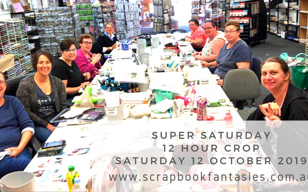 Super Saturday 12 Hour Crop – Saturday 12 October